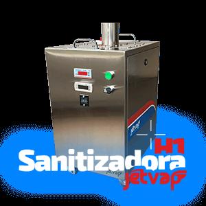 Sanitizadora H1 Jet Vap   Jet Vap - Lavadoras a Vapor