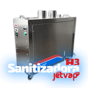 Sanitizadora H3 Jet Vap   Jet Vap - Lavadoras a Vapor