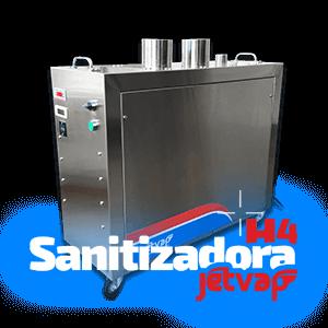 Sanitizadora H4 Jet Vap   Jet Vap - Lavadoras a Vapor
