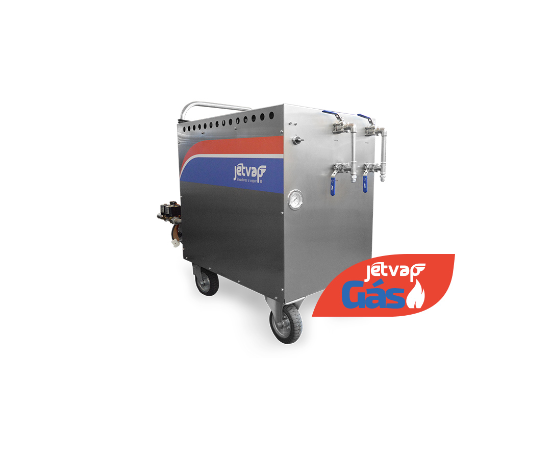 Lavadora a Vapor Jet Vap a Gás | Jet Vap - Lavadoras a Vapor