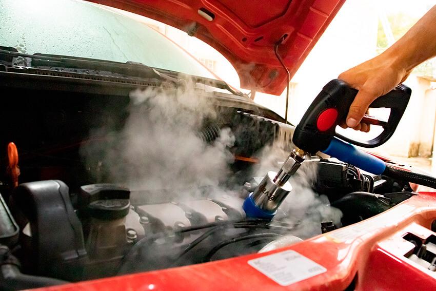 Máquina de Lavar Carros - Limpeza de Motor | Jet Vap - Lavadoras a Vapor