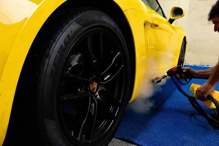 Aplicação da limpeza a vapor em estética automotiva | Jet Vap - Lavadoras a Vapor