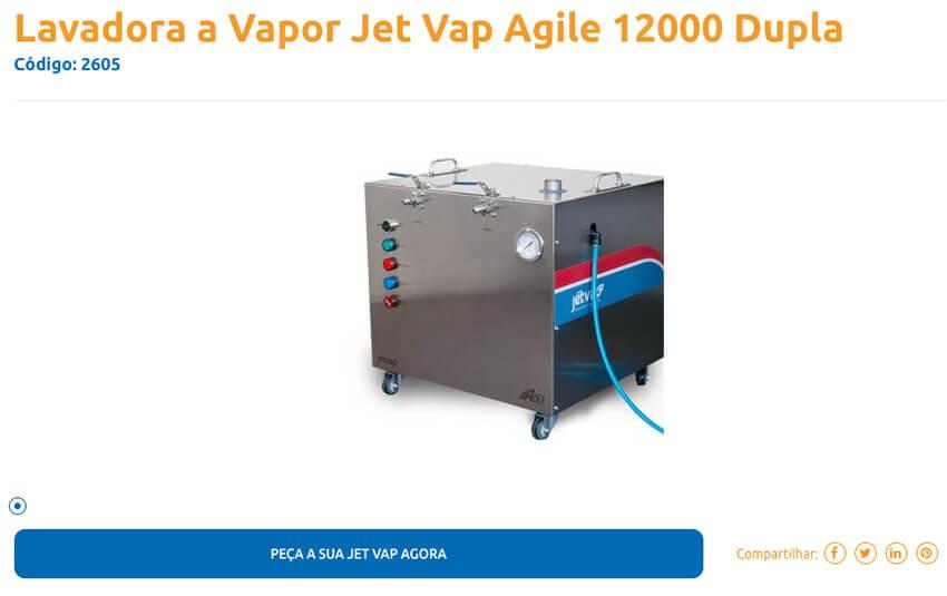 Detalhe completo dos produtos 1   Jet Vap - Lavadoras a Vapor