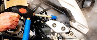 Veja como limpar motor de moto de maneira profissional. | Jet Vap - Lavadoras a Vapor